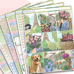 France in Full Bloom | Weekly Kit
