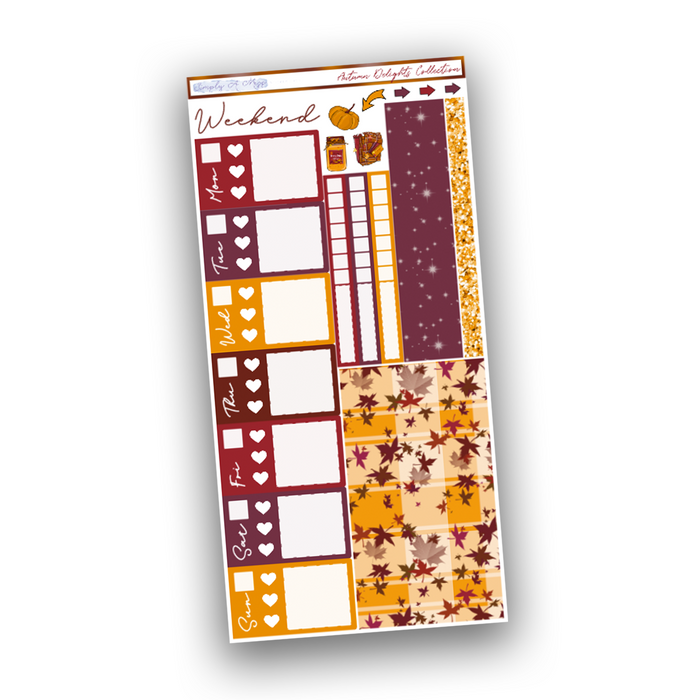 Autumn Delights Collection | Hobonichi Weeks Kit