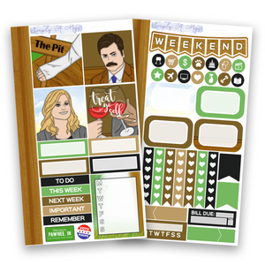 Pawnee Collection | Personal Kit *EXCLUSIVE ART*