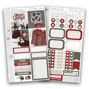 Plaid Christmas Collection | Personal Kit