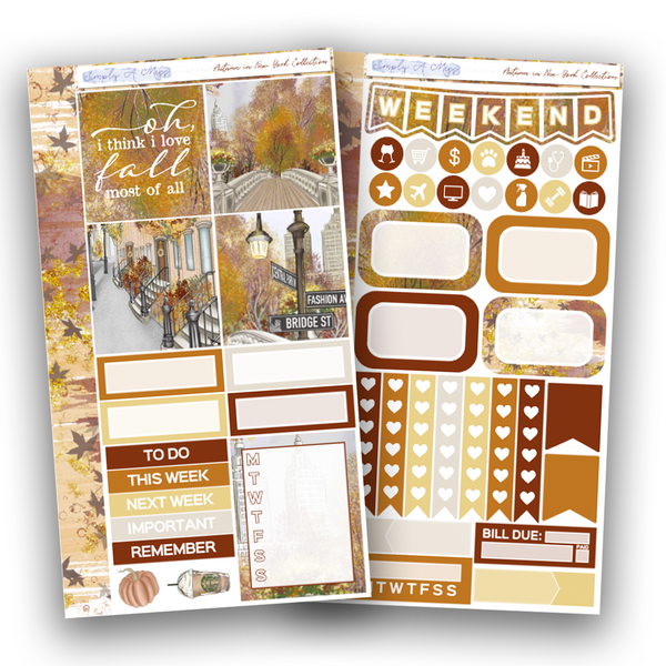 Autumn in New York Collection | Personal Kit