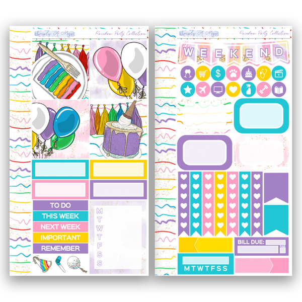 Rainbow Party Collection | Personal Kit