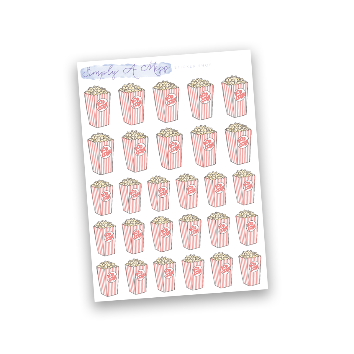 Popcorn | Doodles Collection