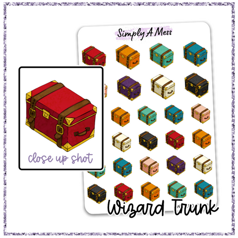 Magical Trunk | Wizard Icon Collection