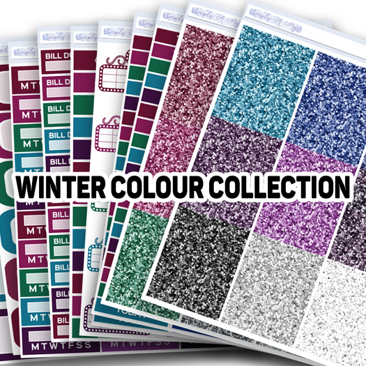 WINTER Colour Collection | Colour Collection Functional Stickers