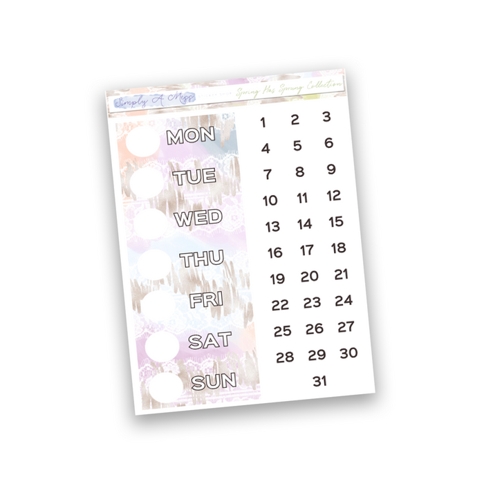 Spring Has Sprung Collection | Date Covers
