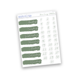 Green Living Collection | Date Covers