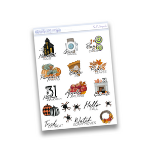 Fall Sampler | Functional Icons