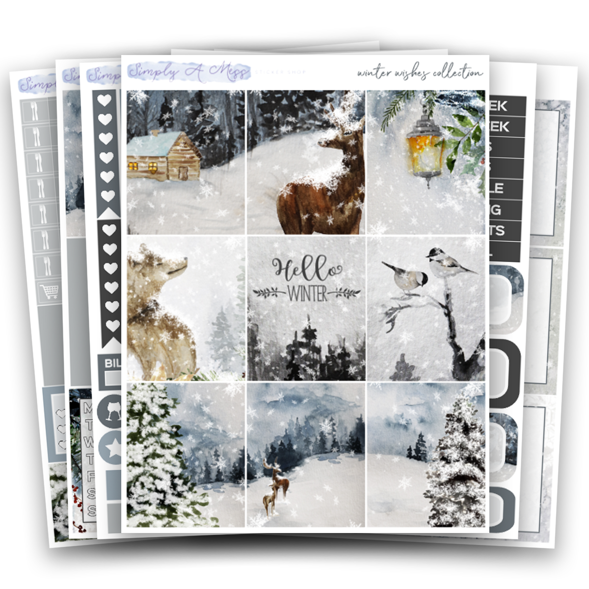Winter Wishes Collection | Weekly Kit