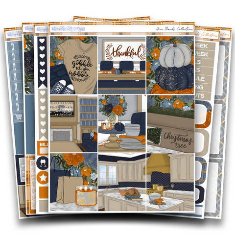 Give Thanks Collection | Weekly Kit