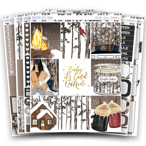 Winter Cabin Collection | Weekly Kit