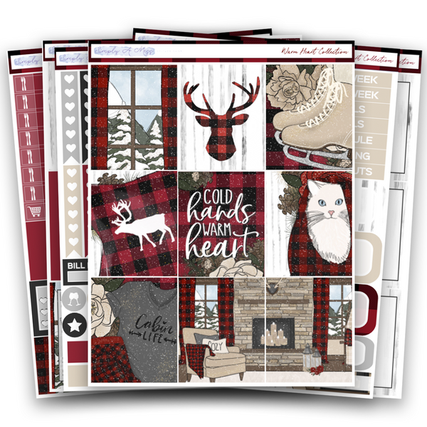 Warm Heart Collection | Weekly Kit