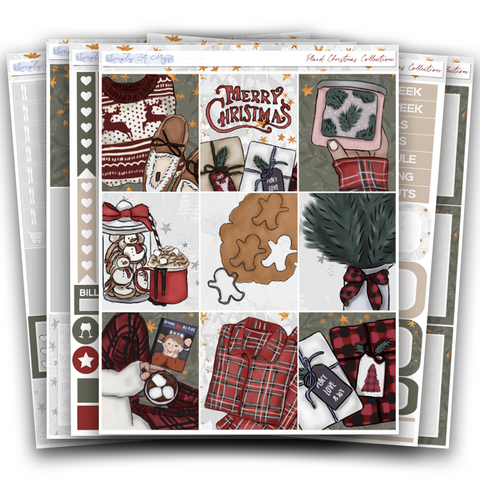 Plaid Christmas Collection | Weekly Kit