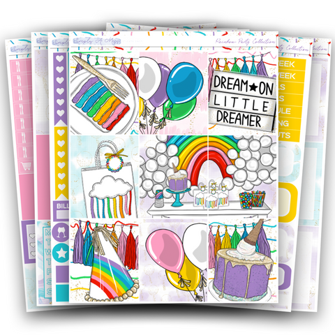 Rainbow Party Collection | Weekly Kit