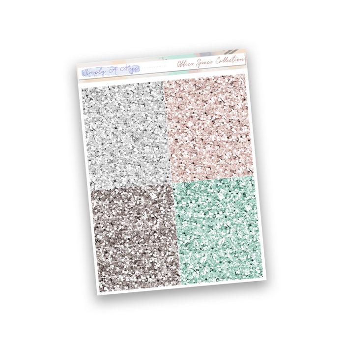 Office Space Collection | Glitter Headers