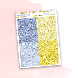 Fresh Lemonade | Glitter Headers