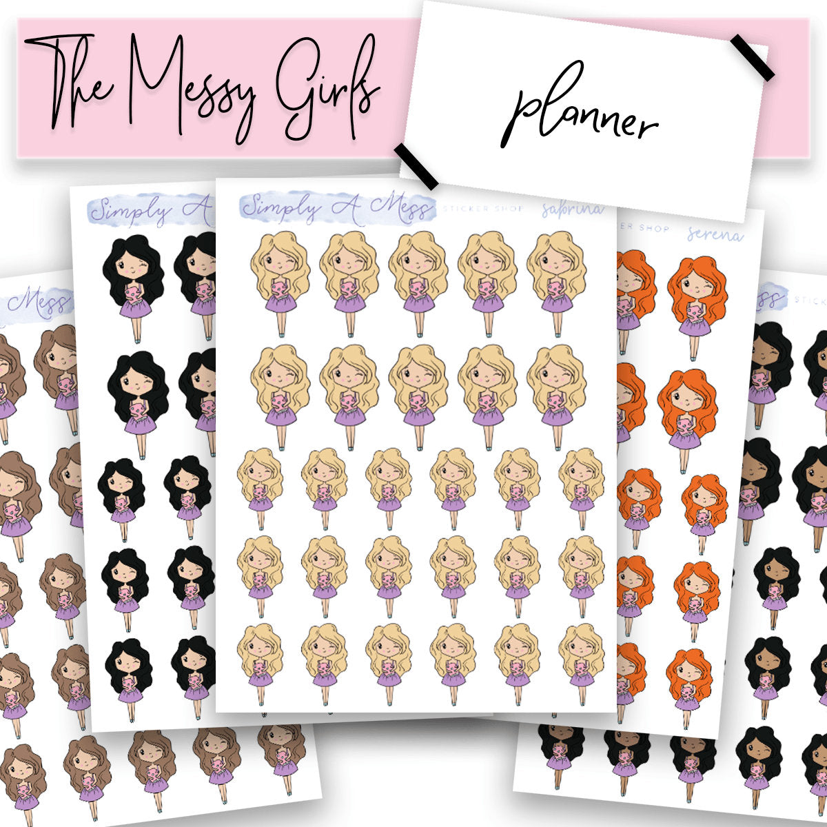 Planner | The Messy Girls