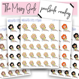 Poolside Reading | The Messy Girls