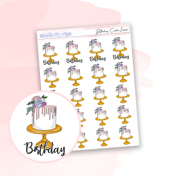 Birthday Cake | Icons