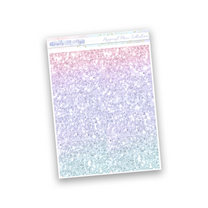 Happiest Place Collection | Ombre Glitter Headers