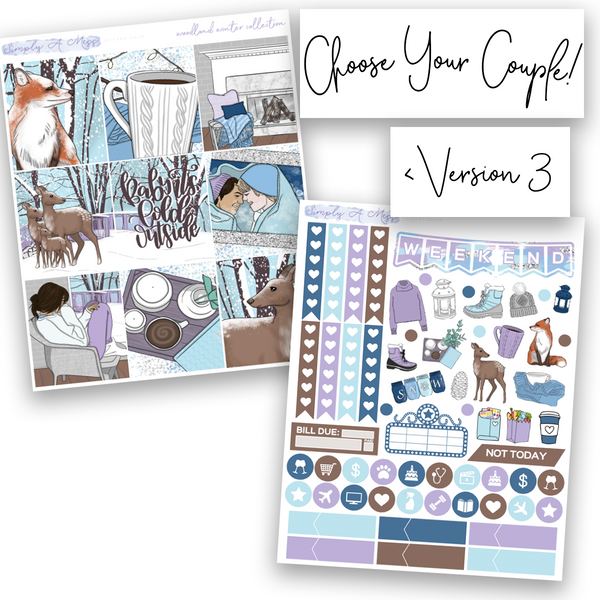 Woodland Winter Collection | Weekly Kit