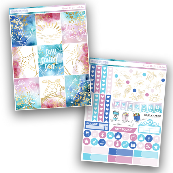 Beyond the Sea Collection | Weekly Kit