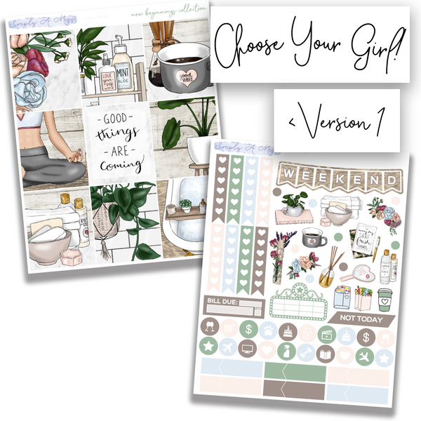 New Beginnings Collection | Weekly Kit