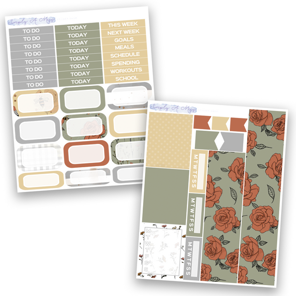 Wildflower Collection | Weekly Kit