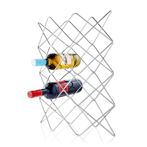 Blomus Vino Wine Rack For 12 Bottles, Wire, Nickel Plated Steel Wire - 63646
