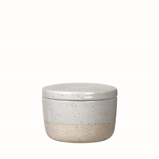 Blomus Sablo Ceramic Sugar Container With Lid - 64117