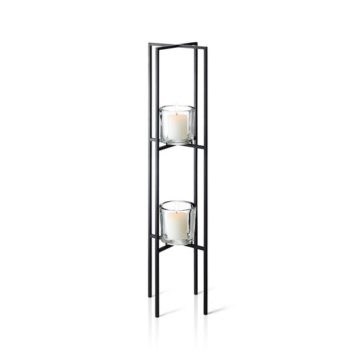 Blomus Nero Candle Holder Floor With 2 Tier - 65570