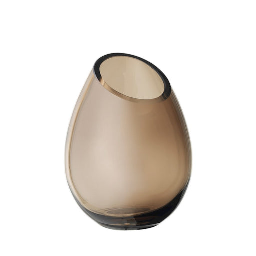 "Blomus Drop 6.5x4.9"" Vase, Coffee - 65964"