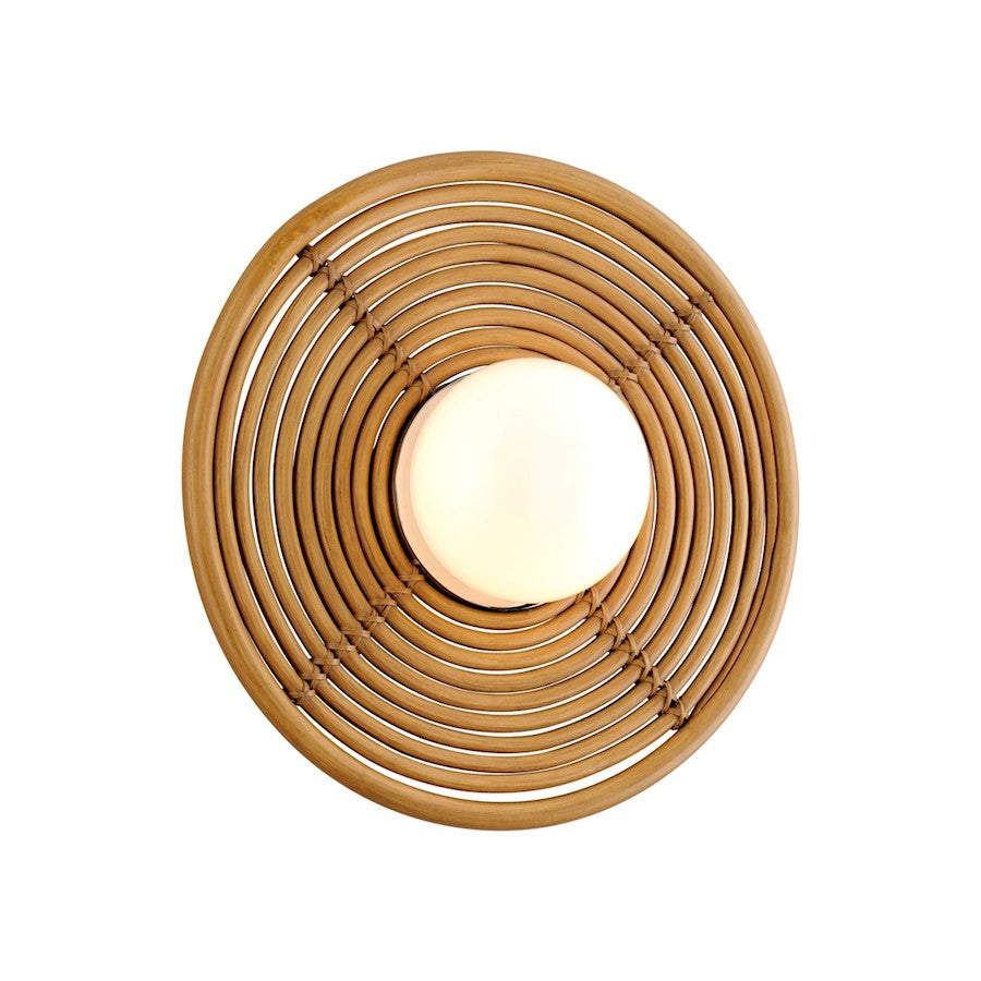 Corbett Lighting Hula Hoop 1 Light Wall Sconce, Polished Brass - 291-11