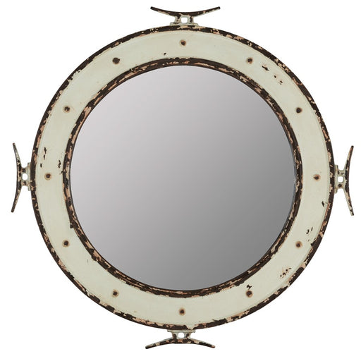 Cooper Classics Nautical Mirror, Metal
