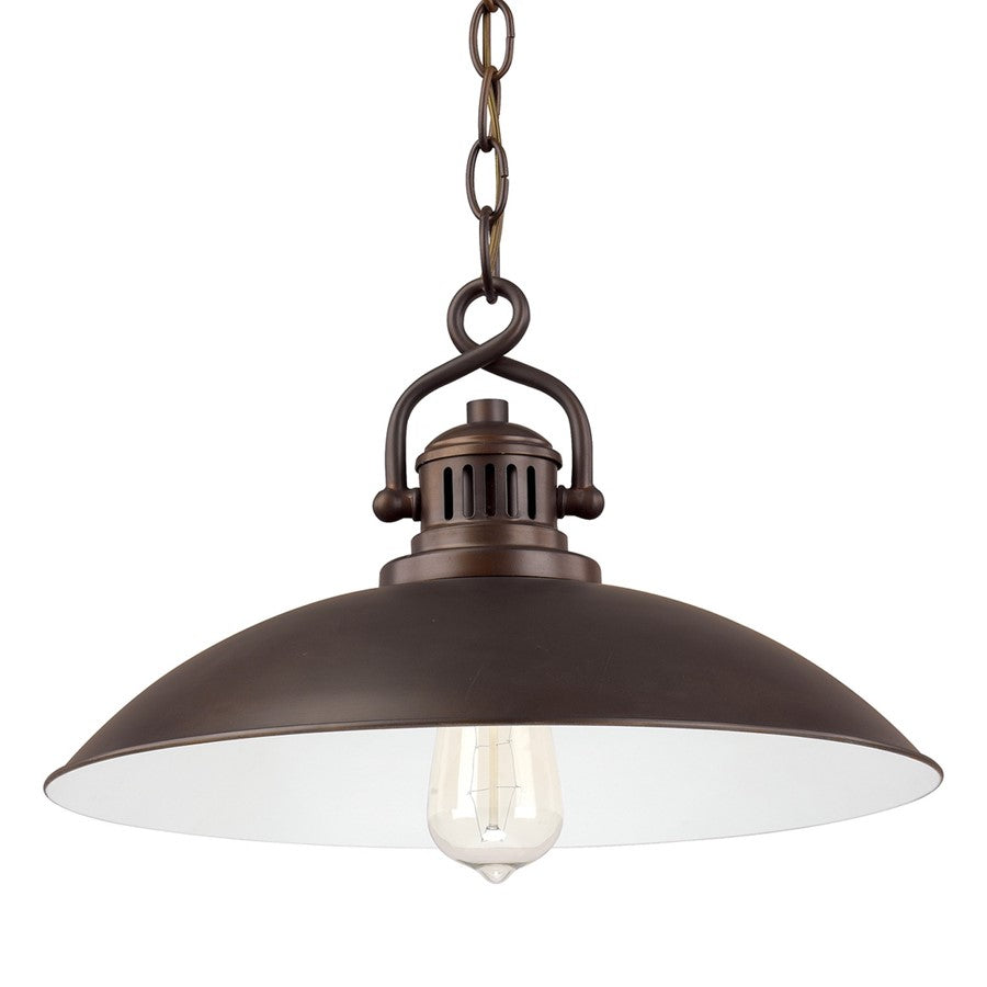 Capital Lighting Oneill, 1 Light Pendant, Burnished Bronze