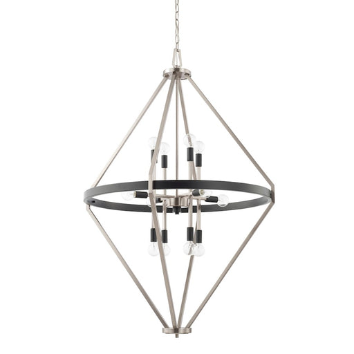 Capital Lighting Tux 12 Light Foyer, Black Tie - 525201BT