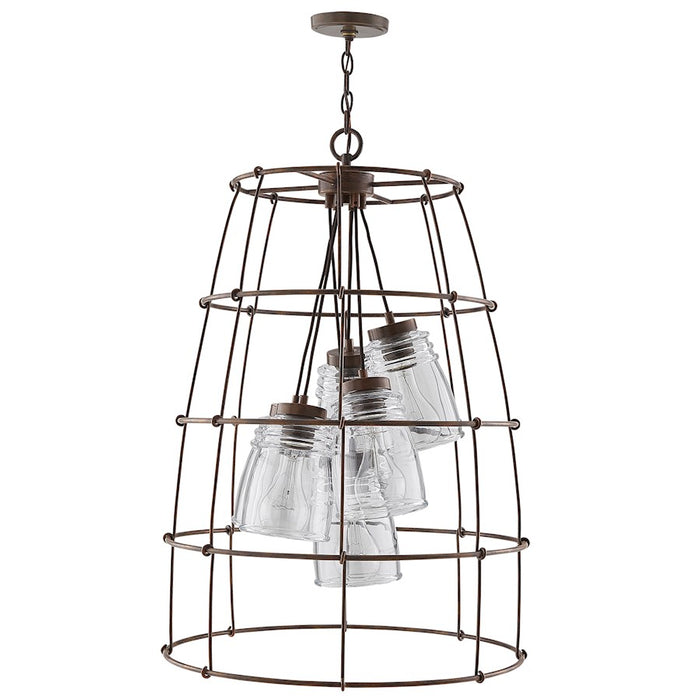 Capital Lighting Turner 6 Light Foyer, Nordic Grey - 529761NG-462