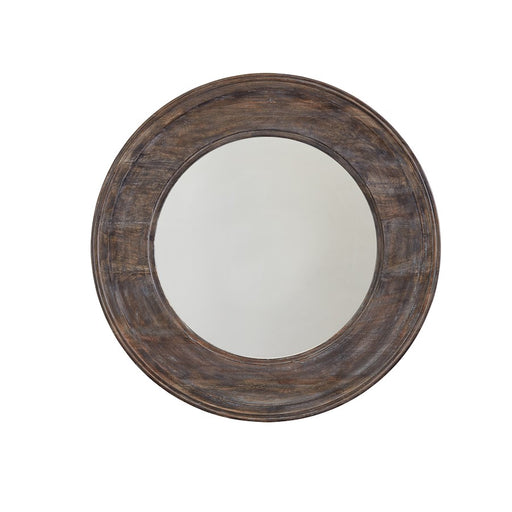 Capital Lighting Mirror Wood Framed Mirror, Black Wash