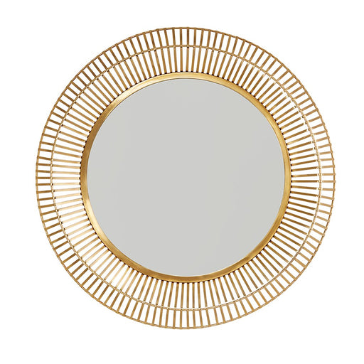 Capital Lighting Mirror Metal Frame Mirror, Matte Gold
