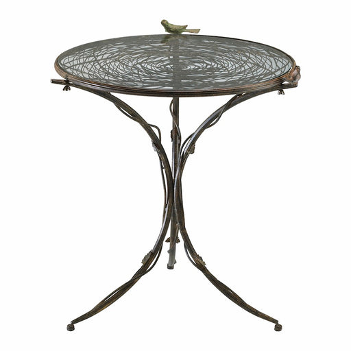 Cyan Design Bird Bistro Table, Muted Rust