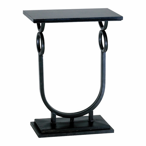 Cyan Design Rope Side Table, Ebony