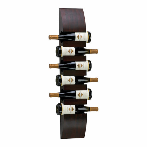 Cyan Design Wall Wine Storage, Mahogany