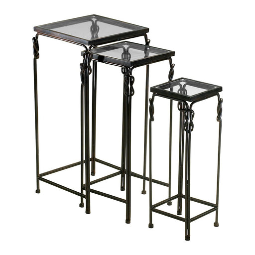 Cyan Design Dupont Nesting Tables set of 3, Rustic Iron