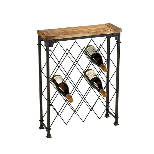 Cyan Design Hudson Wine Rack, Rustic