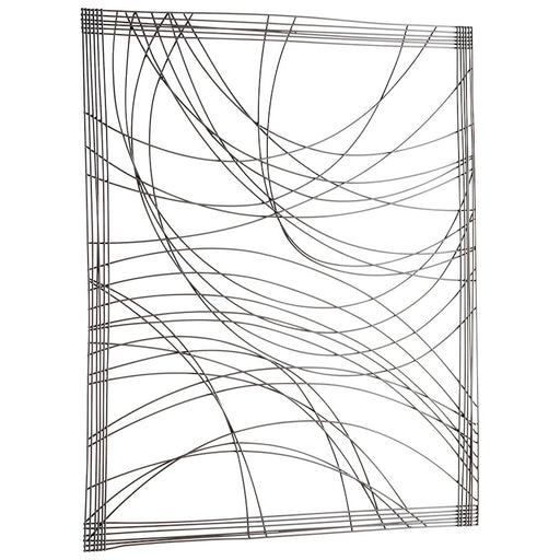 Cyan Design Lifeline Wall Decor, Graphite