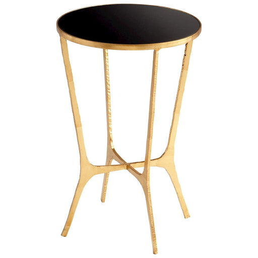Cyan Design Floyd Glass Top Table, Gold