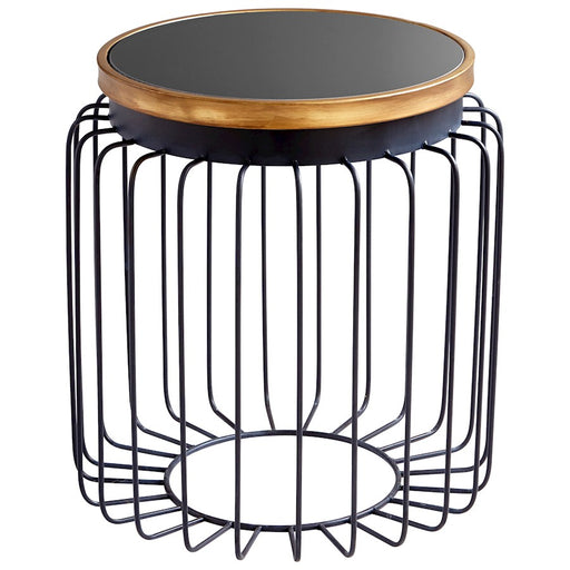 Cyan Design Brandy Table, Gold and Black