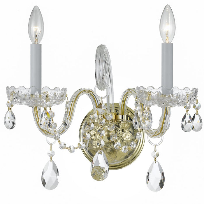 Crystorama Traditional Swarovski Crystal Wall Sconce