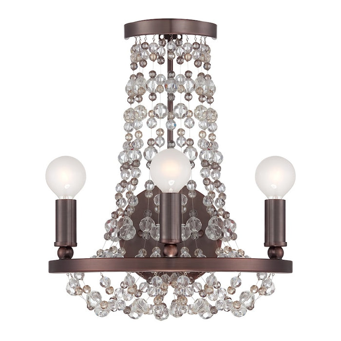Crystorama Channing 3 Light Sconce
