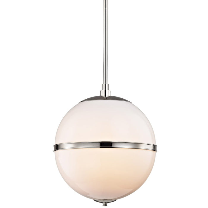 Crystorama Truax 3 Light Mini Chandelier in Aged Brass or Polished Nickel